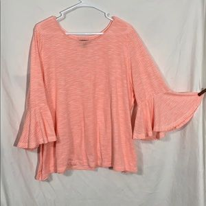 Lane Bryant bell sleeve top size 26/28